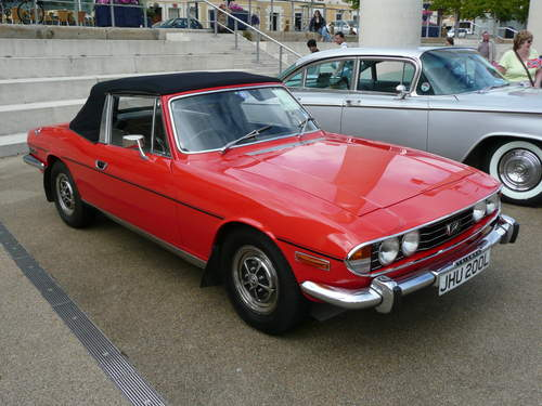Triumph Stag service repair manuals