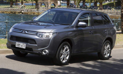 Mitsubishi Outlander service repair manuals