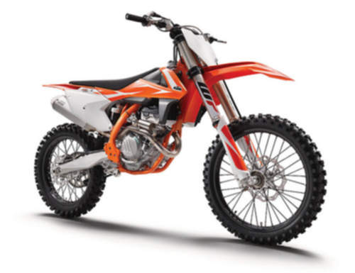 KTM 250SX-F service repair manuals
