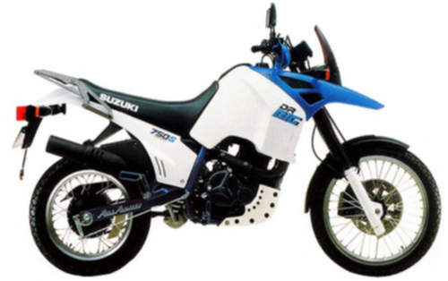 Suzuki DR750S service repair manuals