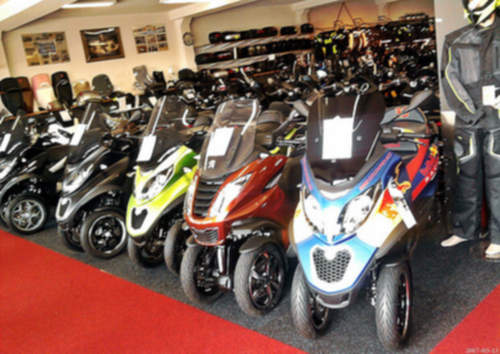 Piaggio MP3 500 Scooter service repair manuals