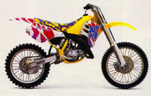 Suzuki RM125 service repair manuals