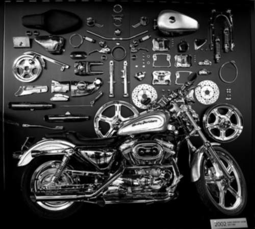 Harley-Davidson XL883C Sportster Custom service repair manuals