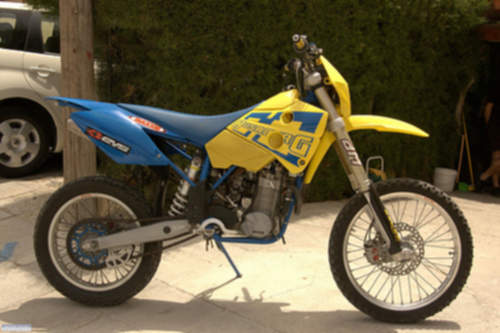 Husaberg FE450E service repair manuals