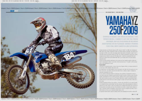 Yamaha YZ250F service repair manuals