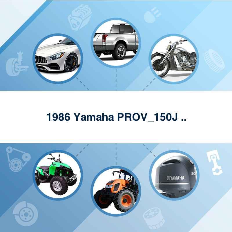 1986 Yamaha PROV_150J ..