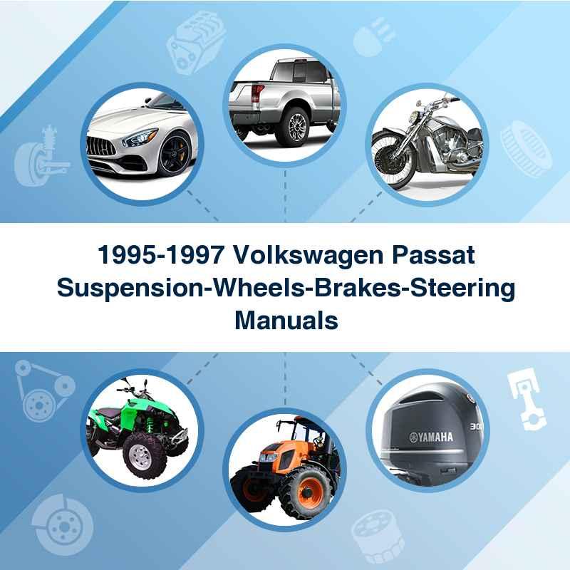 1995-1997 Volkswagen Passat Suspension-Wheels-Brakes-Steering Manuals