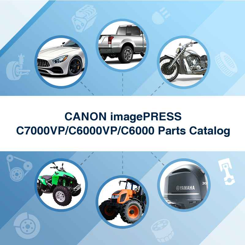 CANON imagePRESS C7000VP/C6000VP/C6000 Parts Catalog