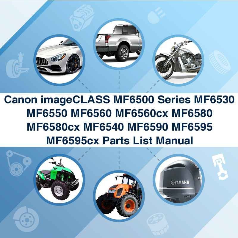 Fillable online canon imageclass mf6530 repair manual fax email.