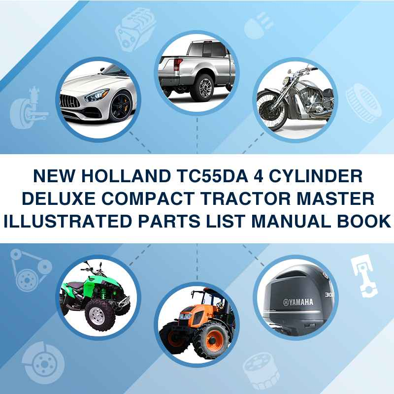 New Holland Tc55da 4 Cylinder Deluxe Compact Tractor
