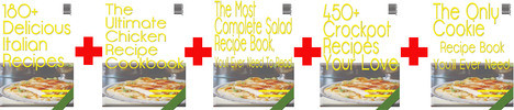 Thumbnail Food Recipe Riches (Five Files)