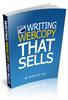 Thumbnail Writing Web Copy That Sells