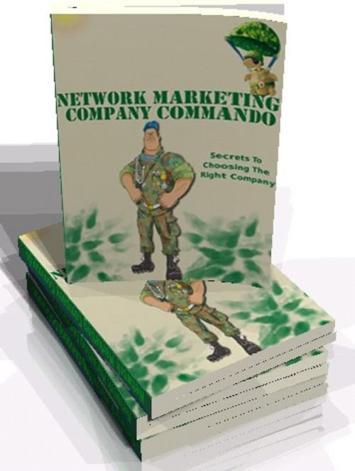Pay for New! Network Marketing Company Commando