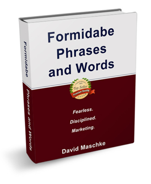 Pay for Formidable Phrases And Words