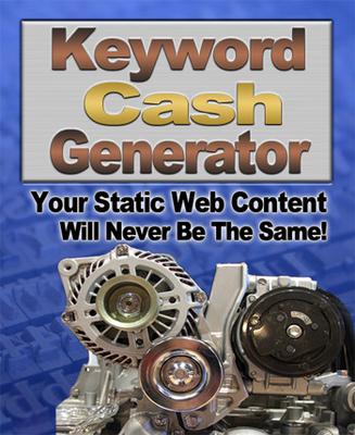 Pay for Keyword Cash Generator
