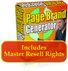 Thumbnail Page Brand Generator With Resale Right