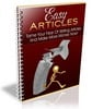 Thumbnail Easy Articles Ebook with PLR