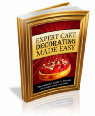 Pay for Expert Cake Decorating Made Easy Ebook with PLR