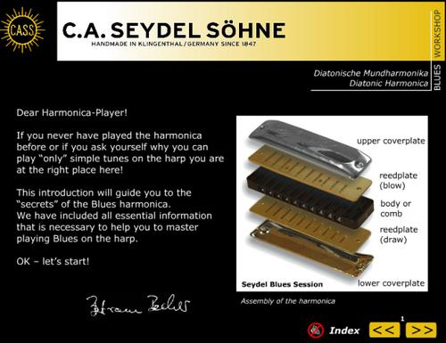 Pay for SEYDEL Soundcheck Vol.1 - Blues Beginner Workshop - download