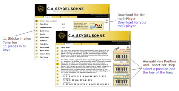 Pay for SEYDEL Soundcheck Vol. 2 - Blues Playback Pack - download