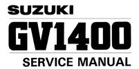 Thumbnail 1986 1987 1988 1989 1990 Suzuki GV1400 Cavalcade models Service Repair Manual