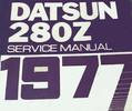 Thumbnail 1977 Datsun 280Z S30 Series Factory Service Repair Manual