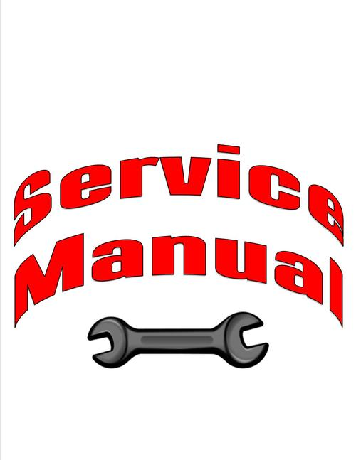 Pay for Yamaha EF1600A_EF2400A Generator models Service Manual