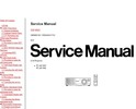 Thumbnail Panasonic PT-AE 700 Projector Original Service  Manual
