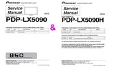 Thumbnail Pioneer PDP LX-5090H and LX-5090 , Original Service Manuals