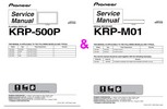 Thumbnail Pioneer KRP-500P & M01 Kuro TV & Media Receiv Service Manual