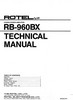 Thumbnail Rotel RB-960-BX Power Amplifier  Service - Technical Manual