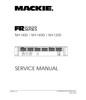 Thumbnail Mackie M-1400 , M-1400i & M-1200 , Original Service Manual