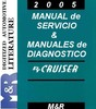 Thumbnail 2005 PT Cruiser Chrysler Manual Servicio y Diagn en Española