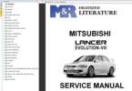 Thumbnail Mitsubishi Lancer EVO VII 7 original Service Workshop Manual