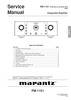 Thumbnail Marantz PM-11S1 Service Manual