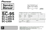 Thumbnail Pioneer SC-95 Home Cinema Receiver Service Manual