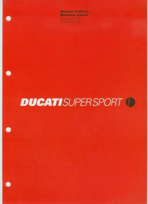 ducati 900 900ss supersport 2001 service manual pdf