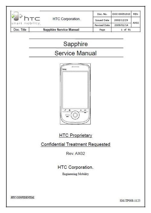 htc sapphire service repair manual download manuals technical rh tradebit com Yamaha Service Manuals PDF Service Manuals