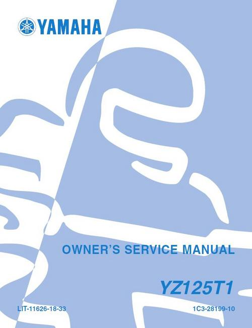 Ebook-5624] 2003 yz 125 service manuals | 2019 ebook library.