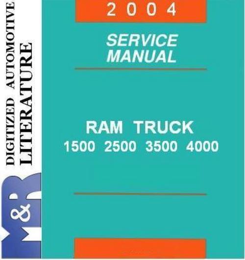 2004 dodge ram dr 1500 2500 3500 service shop manual downl rh tradebit com 2004 dodge ram 2500 shop manual 2004 dodge ram 1500 shop manual