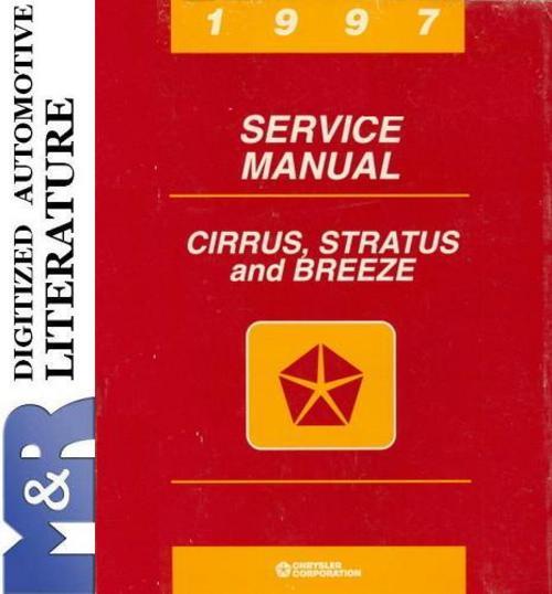 Free 1997 Plymouth Breeze Service Shop Manual Download thumbnail