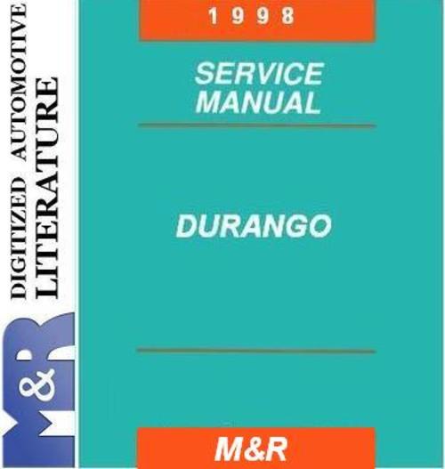 Pay for 1998 Dodge Durango Original Service Manual