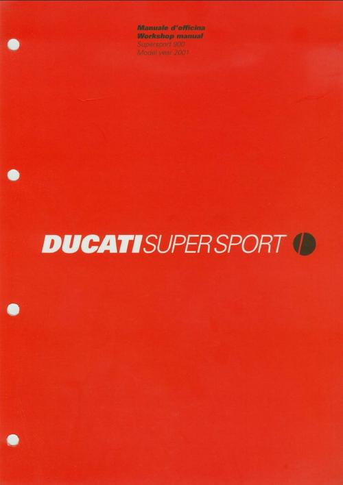 Pay for Ducati 900-SS Supersport , 2001 , Manuale d Officina