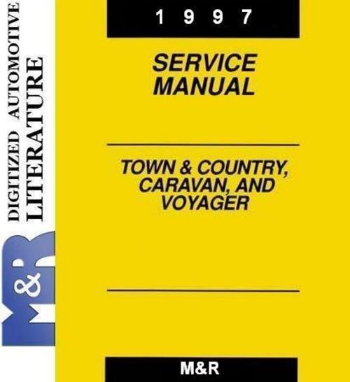 Free 1997 Voyager Plymouth , Original Service - Shop Manual Download thumbnail