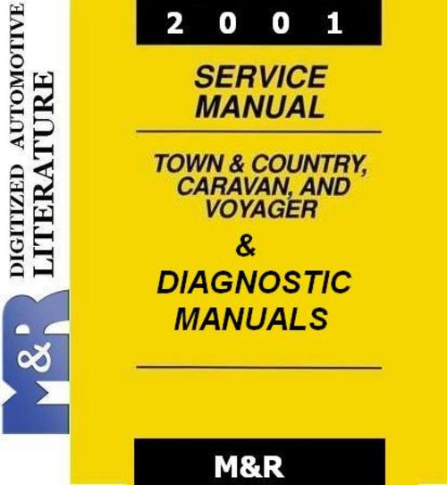 Pay for 2001 Chrysler Town Country , Service & Diagnostic Manual