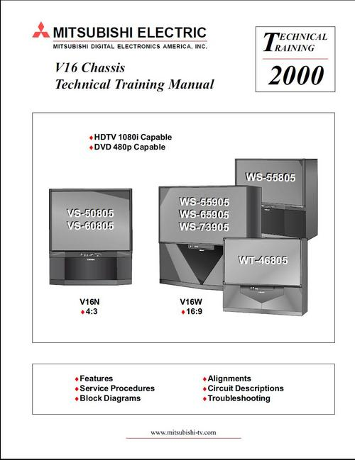 similiar mitsubishi tv repair diagram keywords mitsubishi vs 50805 vs 60805 v16 mod tv service manual down