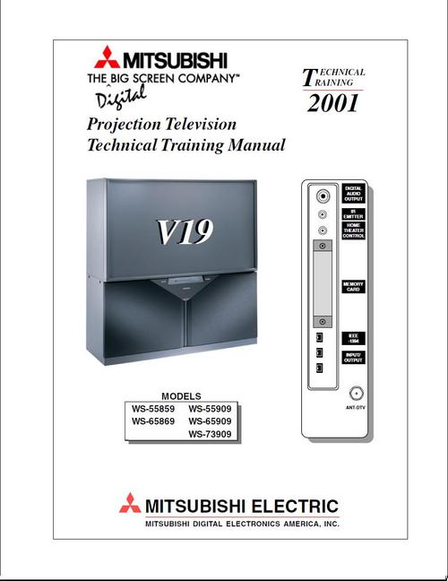 mitsubishi ws 55859 ws 65869 v19 series service manual downlo rh tradebit com Mitsubishi Mirage Review Mitsubishi Mirage Review