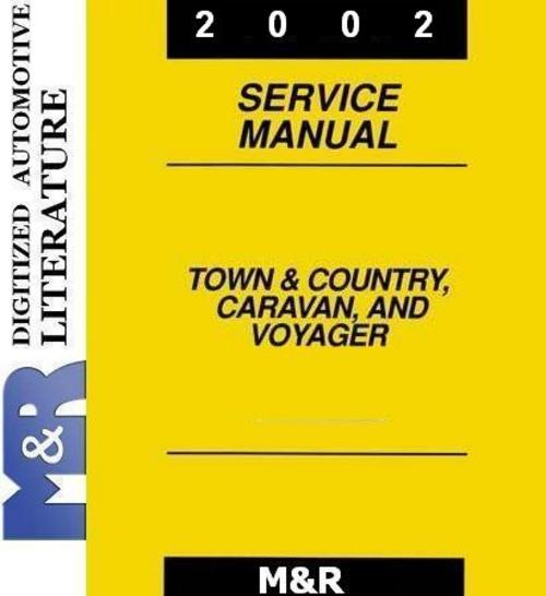 Pay for 2002 Chrysler  Town & Country , Voyager  , Service Manual