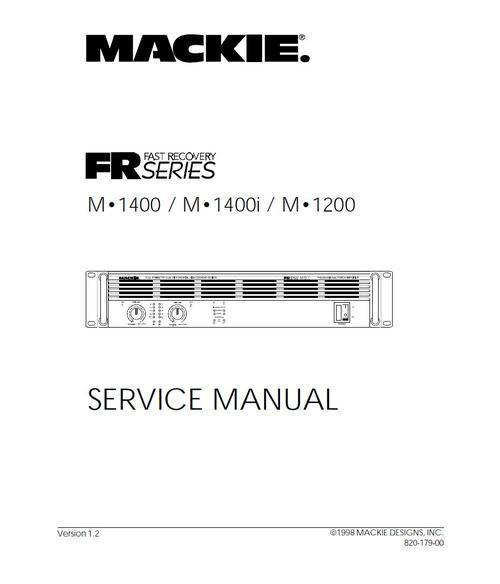 mackie m 1400 m 1400i m 1200 original service manual downlo pay for mackie m 1400 m 1400i m 1200 original