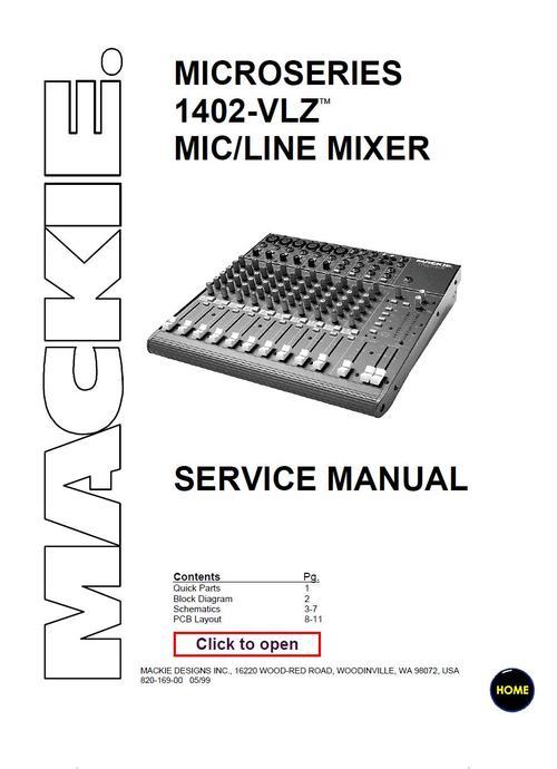 mackie 1402 vlz microseries mixer service manual manua pay for mackie 1402 vlz microseries mixer service manual